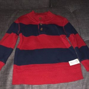 GAP navy and blue toddler sweater size 2T